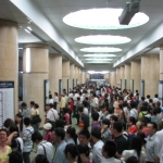 高峰时间地铁站 Rush Hour Subway Station