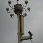 场的监视摄像头 Surveillance Cameras at Tiananmen Square